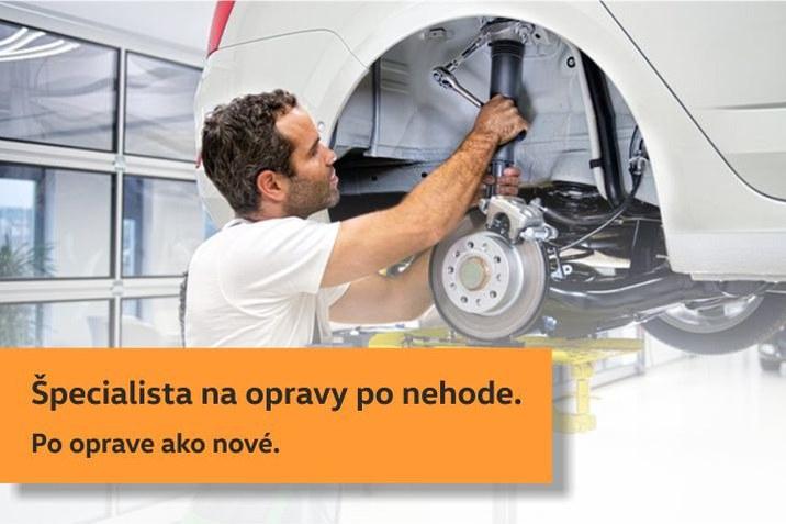 Špecialista na opravy po nehode